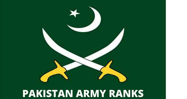 Pakistan Army Ranks