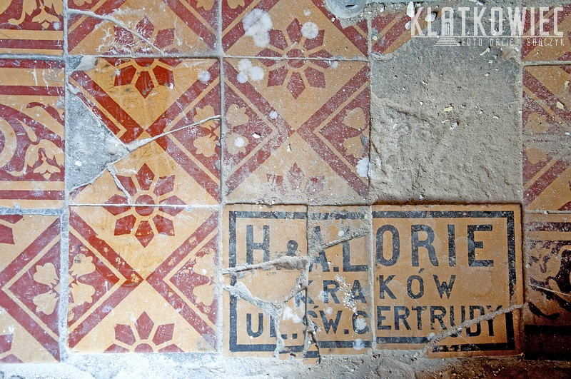 Kraków. Skład materiałów budowlanych H. & A. Lorie
