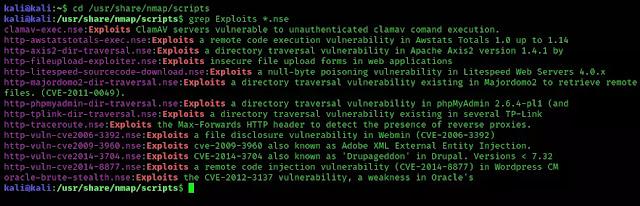 Nmap exploits