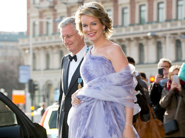 Queen Mathilde, King Flippe