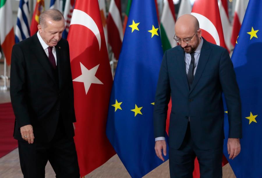 Σε ρόλο υβριστή της Ευρώπης και πάλι ο Ερντογάν