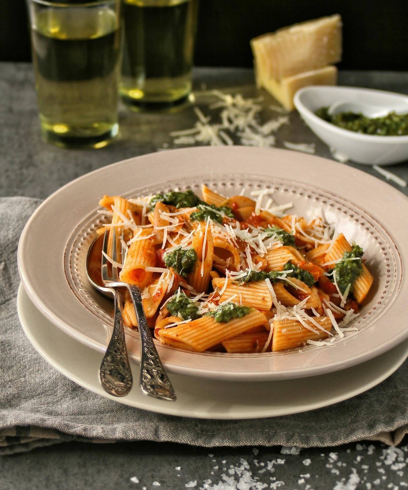 Quick pasta dishes