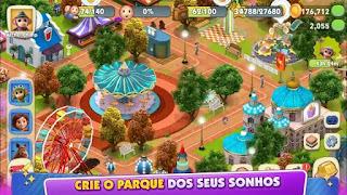 O jogo oficial de construção de parque é baseado no novo FILME ANIMADO da Paramount Pictures