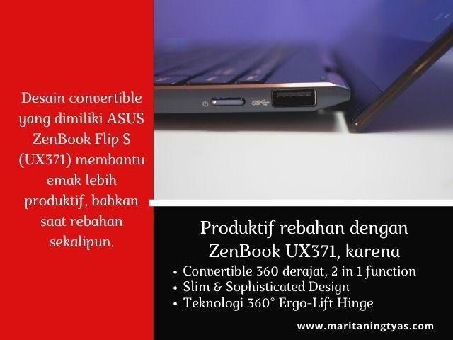 laptop convertible asus Zenbook