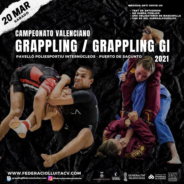 Campeonato Valenciano de Grappling 2021