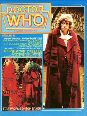 Doctor Who magazine #51, Tom Baker
