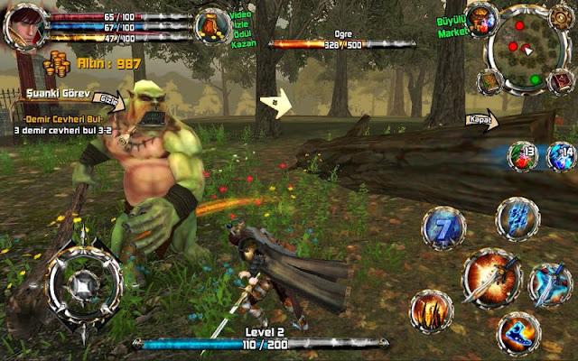 Kingdom Quest: Crimson Warden é um RPG Online.. Só que não!