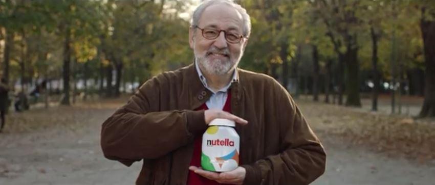 Modello e modella Nutella pubblicità come te non c'è nessuno con Foto - Testimonial Spot 2017