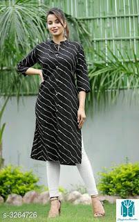 Mythili Stylish Khadi Cotton Women's Dress