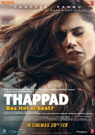 Thappad 2020 Full Hindi Movie Download