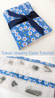Travel Jewelry Case Bag DIY Tutorial