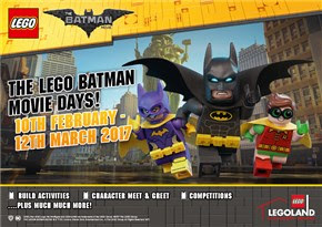 LEGO Batman movie days at LDC Manchester