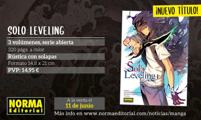 Solo Leveling mahnwa - Chugong & DUBU - Norma Editorial
