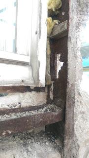 Stahlstütze Altbau Schaden Rost Sanierung Stuck Belz Bonn