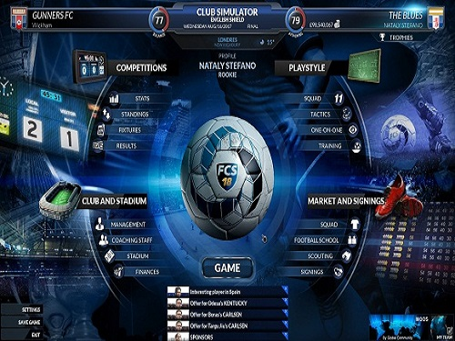 Football Club Simulator 18 Final Race Game Free Download