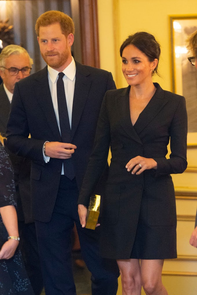 "Prince Harry & Meghan attend Gala Performance of ""Hamilton"""