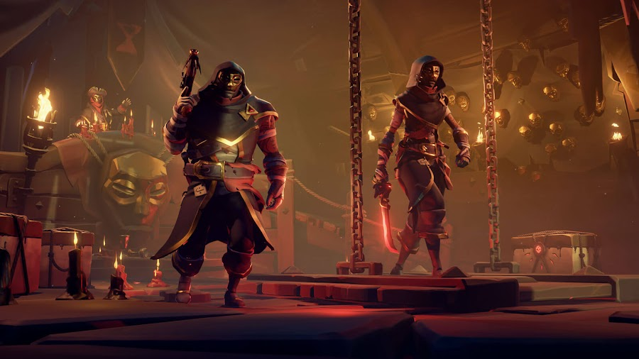 sea of thieves lost treasures reaper's rewards event free monthly content update dlc pc xb1 rare studio xbox game studios