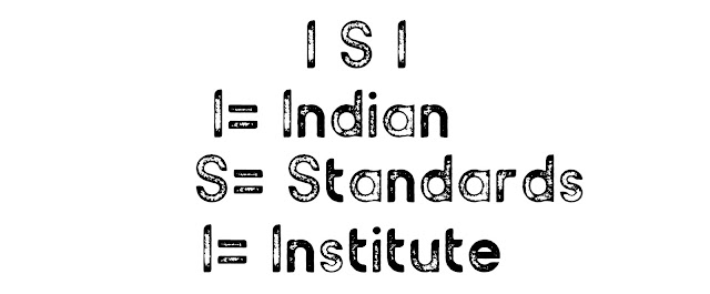 What is the full form of ISI?