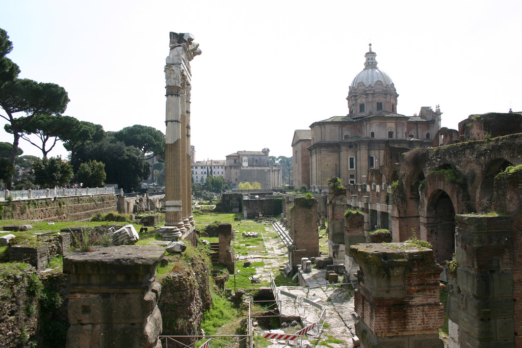 View of Caesar's Forum
