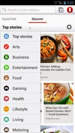 Opera Browser for Android Terbaru