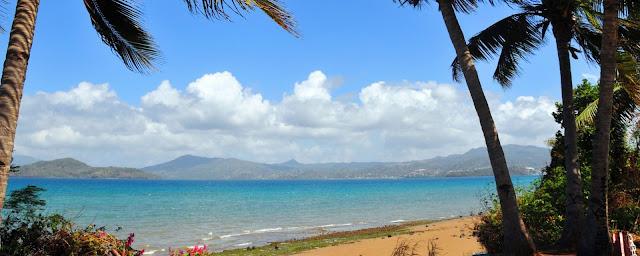 Littoral de la côte de Mayotte