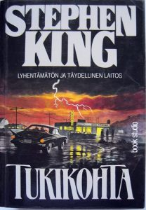 Stephen King - Tukikohta kansi
