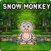 Snow Monkey Escape From Forest
