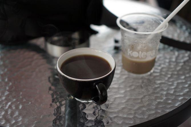 Es Pisu dan Americano kala pagi