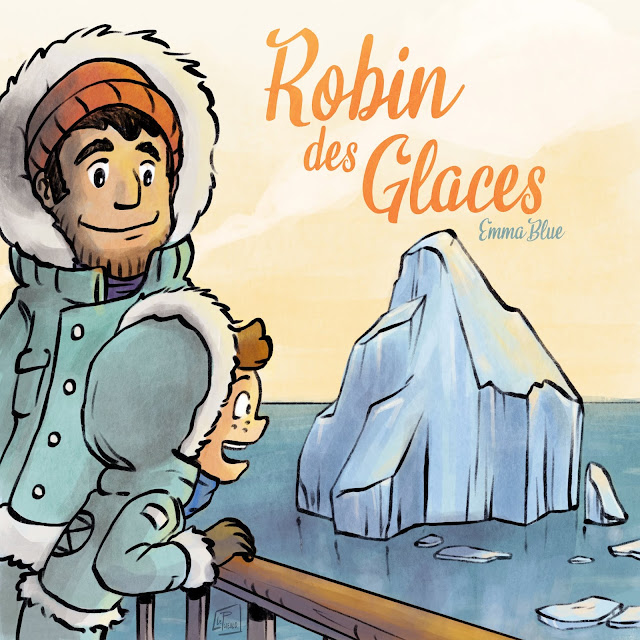 illustration iceberg pole nord histoire enfant jeunesse LePueblo