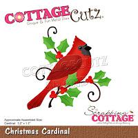 http://www.scrappingcottage.com/cottagecutzchristmascardinal.aspx