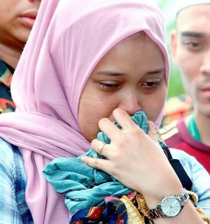Nurul Najihah Tunang Allahyarham Muhammad Adib Bukan Tunggul