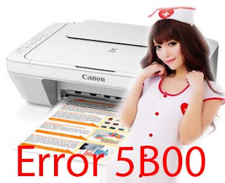 Cara Mengatasi Printer Canon MG-2570 Error 5B00
