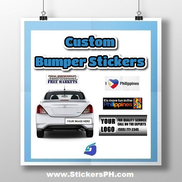 Custom bumper stickers stickersph com philippines