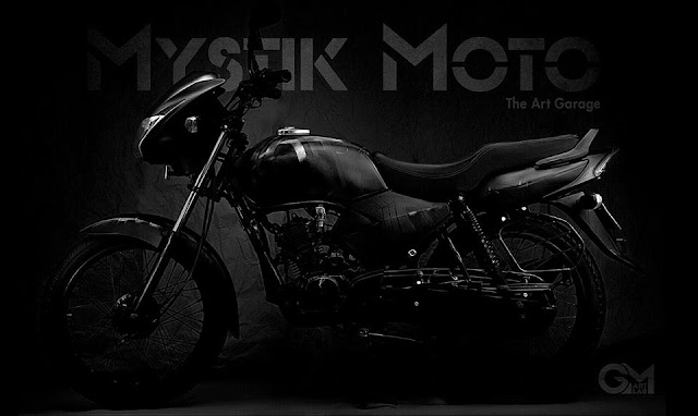 TVS Star City Black Panther by Mystik Moto