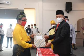 Bupati Zahir Gelar Pelantikan Dewan Kebudayaan Batu Bara Periode 2020 - 2024