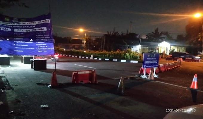 Waduh! Ombudsman Banten Temukan Posko Penyekatan Kosong Petugas pada PPKM Darurat di Tangsel
