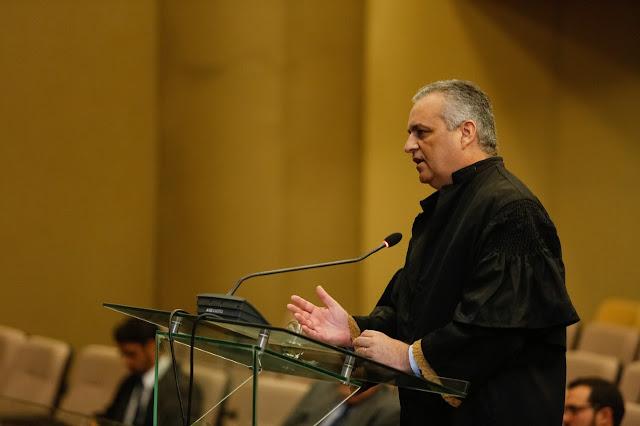 Alfredo Gaspar agradece moção honrosa  em discurso no pleno do TJ/AL