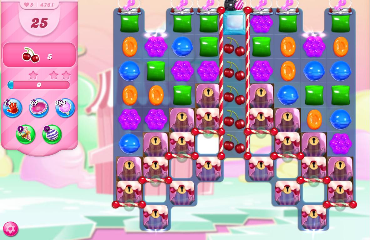 Candy Crush Saga level 4761