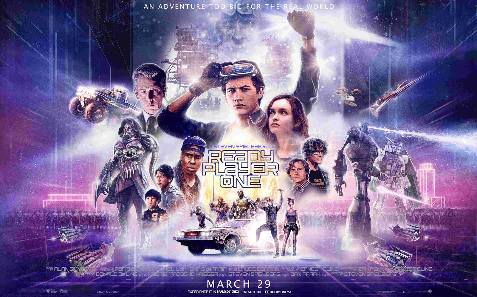 READY PLAYER ONE - poster pelicula