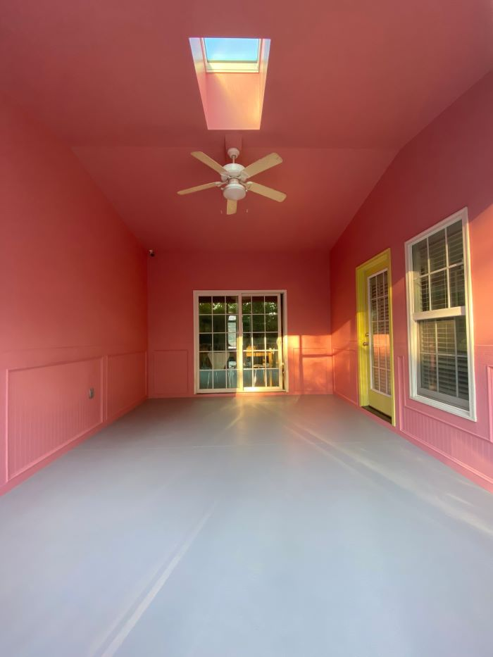 Our Porch Refresh: The Power Of Paint-after painting-designaddictmom