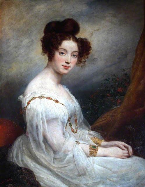 Ary Scheffer - Charlotte Rothschild, Baroness Anselm de Rothschild