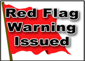 Red Flag Warnings To America - A Wake Up Call