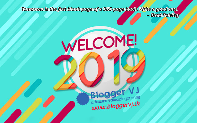 Happy New Year 2019 blog