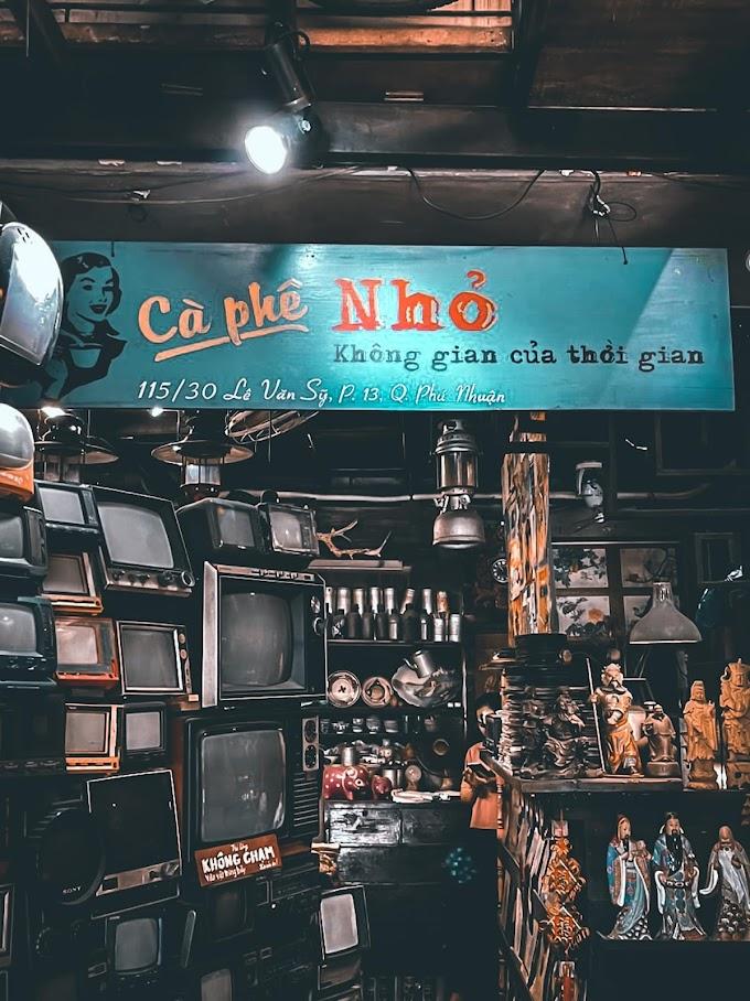 Cafe Nhỏ quận Phú Nhuận - Quán cafe vintage giữa lòng Sài Gòn
