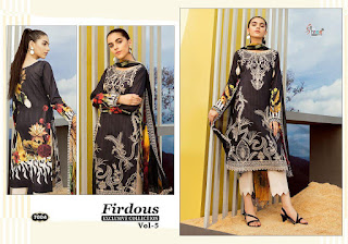 Shree Fab Firdous vol 5 Pakistani Suits wholesaler