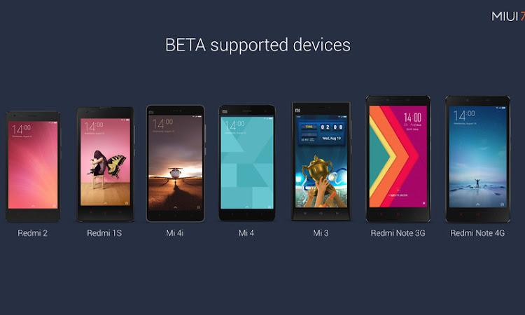 Ini Daftar Smartphone Xiaomi yang Kemungkinan dapat Mencicipi MIUI 8