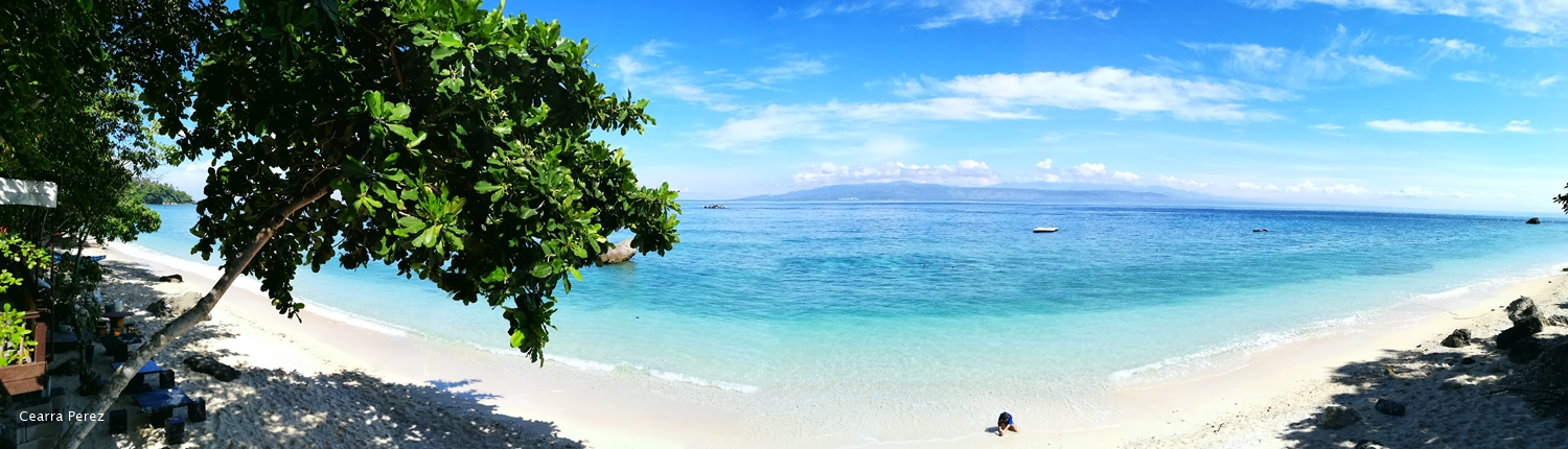 White Sand Beach in Sumbang Point, Glan, Sarangani