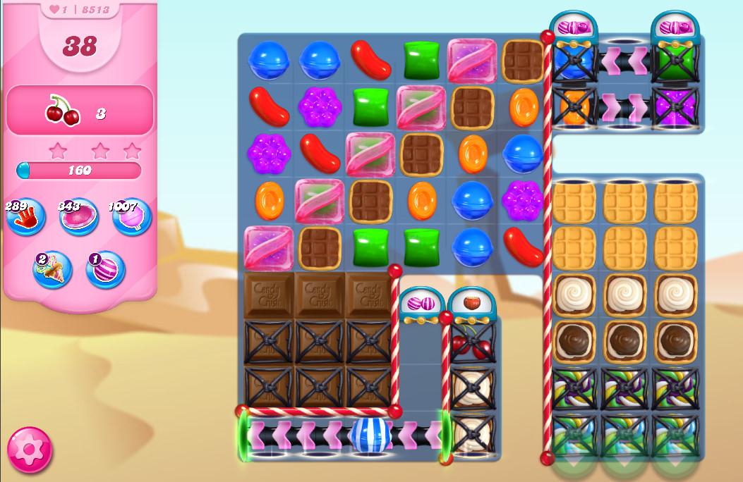 Candy Crush Saga level 8513