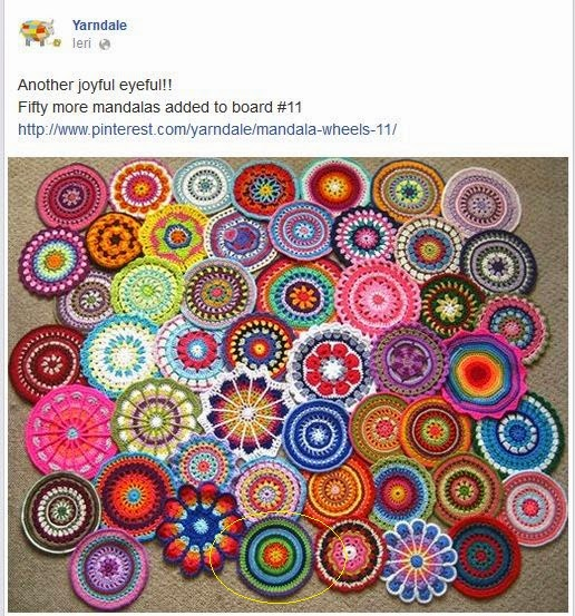 Pyros Patch Mandalas Crochet