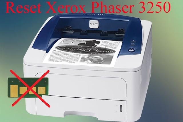 Reset Counter Xerox Phaser 3250